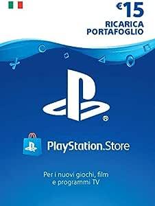 PlayStation Network PSN Card 15€   Codice download per PSN - Account italiano