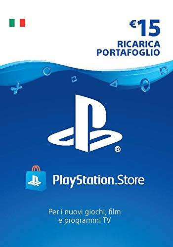 PlayStation Network PSN Card 15€ | Codice download per PSN - Account italiano