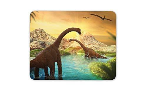 Ehrfürchtige Dinosaur Szene Mauspad Pad - Kinder Junge Animal Gift PC Computer # 8529 (Niedliche Szene Junge)
