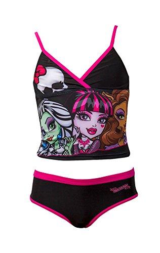 Offizielle Monster High Mädchen Badeanzug Swimwear Alter 6-12 Jahre