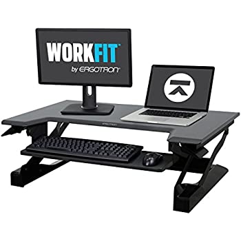 Ergotron Stand Table Workfit Black Amazon Co Uk
