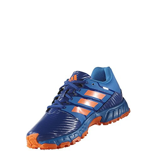 adidas adiPower II Junior Hockey Shoes, Blue, UK5