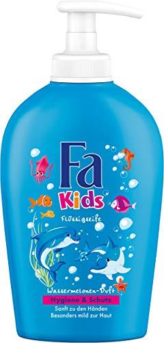 Fa Kids Flüssigseife, Duft der Wassermelone, 6er Pack (6 x 250 ml)