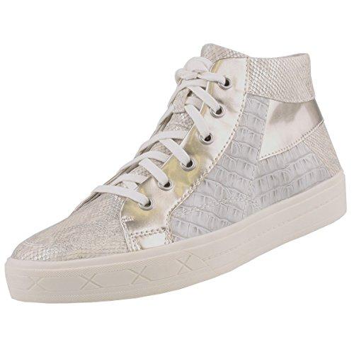Tamaris1-1-25206-28-267 - Pantofole a Stivaletto Donna , grigio (Grau (L.Grey Str Com)), 36 EU