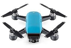 Dji Spark - Mini-drohne Mit Max. Geschwindigkeit Von 50 Kmh, Bis Zu 2 Km ÜBertragungsreichweite, 1080p Videos Mit 30 Fps Und 12 Megapixel Fotos - Blau