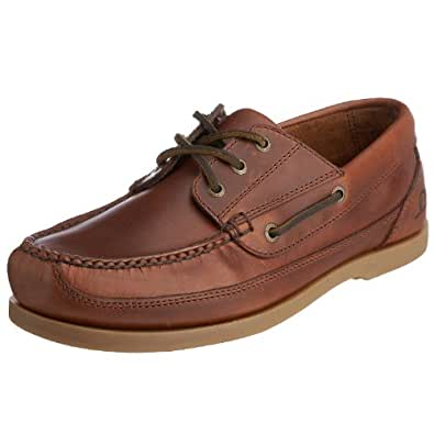 Chatham Men's Rockwell G2 Boat Shoes - Chestnut, 6 UK