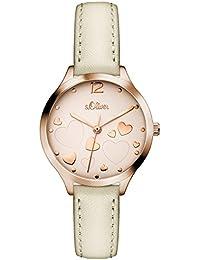 s.Oliver Damen-Armbanduhr SO-3244-LQ