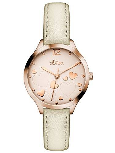 s.Oliver Damen-Armbanduhr SO-3244-LQ