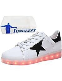 c0 EU 33,[+Kleines Handtuch] weise Schuhmädchenschuh USB Schuhe Kinderschuhe Jungen leuchtende beleuchtete Licht emittierende LED großer Sportschuhe