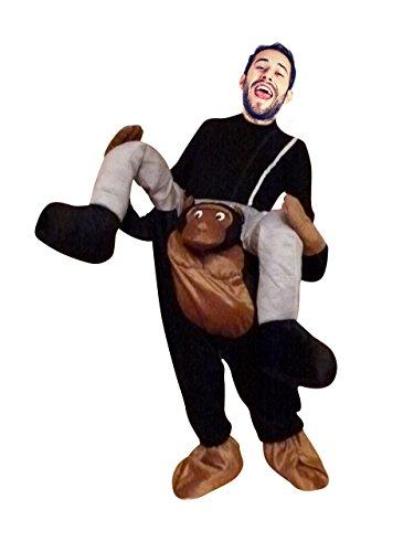 dschungel kostuem damen Carry me Affen-Kostüm, F102 Gr. M- XL, Affen-Kostüme Affe Kostüme Affen-Faschingskostüm, Fasching Karneval, Faschings-Kostüme, Geburtstags-Geschenk Erwachsene, Huckepack