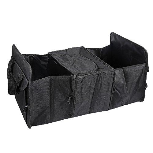 Alextry Foldable Car Trunk Bag Organizer Jouets Alimentaires Storage conteneurs Cargo Bags Box Accessoires Voiture