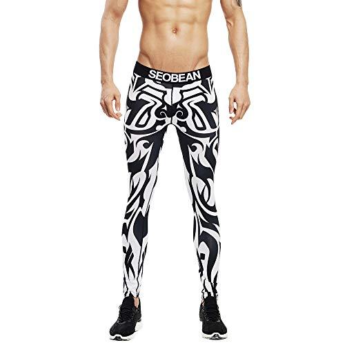 UFACE Yoga Hosen Herren Pants Neue Art Weise der Männer Färbte Sport Fitness Hosen Schnell Trocknende Breathable Strumpfhosen Laufhose Sweathose Fitnesshose Jogger Outdoor Sport