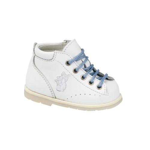 Firststep pour enfant Chaussures–thérapeutique par Piedro. conçue pour les petits pieds qui besoin de plus de soutien et Contro en taille 15–21et en 2largeurs. Blanc