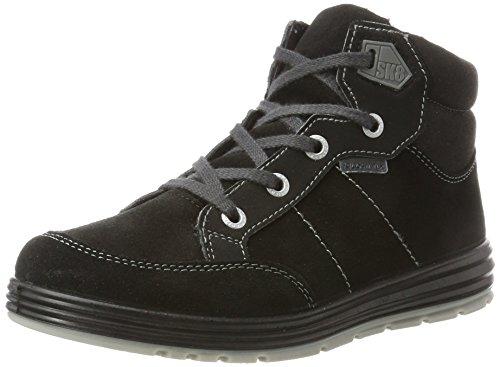 RICOSTA Jungen Bajo Hohe Sneaker, schwarz, 00037 EU