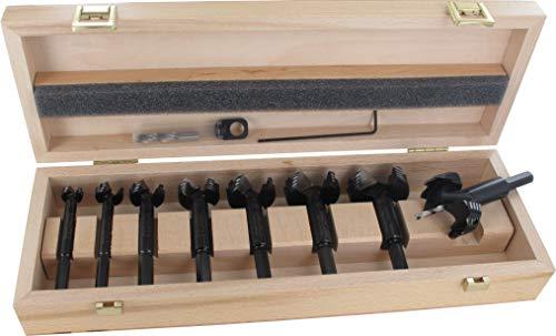 Famag Bormax 2.0 Forstnerbohrer Set mit Zentrierspitze, 5-teilig, Holzbohrer ø 15-35 mm, Länge 90 mm - 1624505