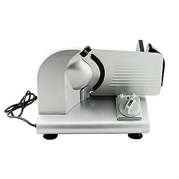 "Denshine 7.5"" Electric Stainless Steel Precision Food Slicer Meat Slicer Blade Machine For Commercial Restaurant Home Use 3"