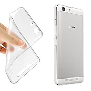 Sancroft FLEXIBLE TRANSPARENT BACK COVER FOR Gionee M5 Lite