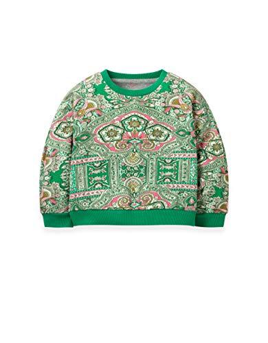Oilily Herit Sweatshirt Orient Grün YF19GHJ203