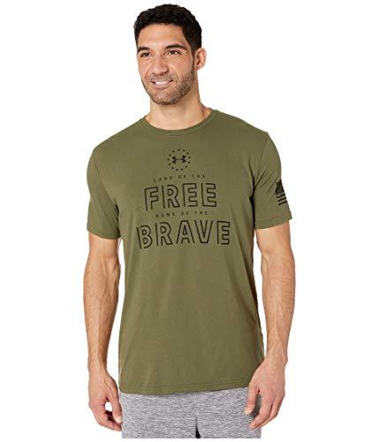 Under Armour Herren Freedom Free & Brave T-Shirt kurzärmelig Marine Od Green (390)/Black XX-Large -