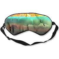 Comfortable Sleep Eyes Masks Painting Flying Bubbles Pattern Sleeping Mask For Travelling, Night Noon Nap, Mediation... preisvergleich bei billige-tabletten.eu