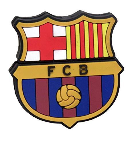 FC Barcelona USB-01-BC Pendrive Rubber Escudo, 8GB