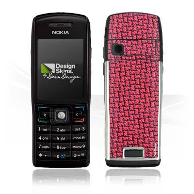 Nokia E 50 Case Skin Sticker aus Vinyl-Folie Aufkleber Muster