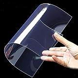 SparY Foglio di Gel Trasparente in plastica PVC, Sottile, Pieghevole, a Prova di Calore, Multifunzione, Filtro per Illuminazione Leggero, 2 Pezzi, Transparent, Taglia Libera