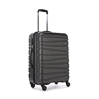 Antler Sonar Exclusive Medium Suitcase Charcoal, Size: 67 x 47 x 28