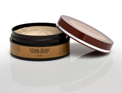 Star Wax | Premium Pomade, Clay, by Star Pro Line – 5 fl oz / 150 mL