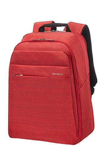 "Samsonite Network 2 SP Mochila Tipo Casual para Portátil, 15""-16"", 42 cm, 21.5 L, Color Rojo (Ruby Red)"