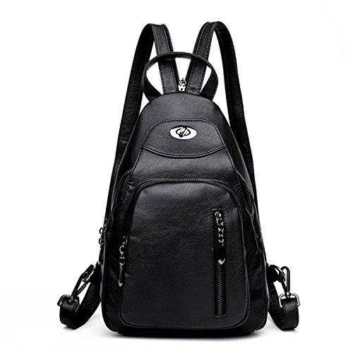 Schulter-Beutel-weibliche Kasten-Beutel-beiläufige Schulter-Handtaschen Einfacher Multifunktions-Spielraum-Rucksack B