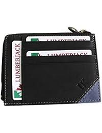 los titulares de tarjetas de crédito de leñador l.hamo azul negro 29148P018