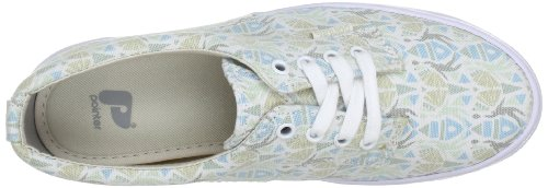 Pointer I011620, Chaussures basses femme - Multicolore (Washed Racket Print Multicolore (Washed Racket Print Guava Wg70)