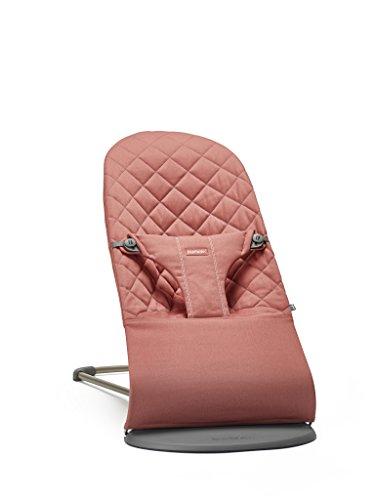 BABYBJÖRN Babywippe Bliss, Terrakotta-Pink, Cotton