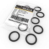 15 mm x 2,5 mm (20 mm de diámetro) anillas de goma de nitrilo 70A dureza de la orilla – Elija el tamaño del paquete