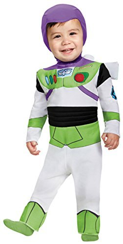 Disguise Costumes Buzz Lightyear Deluxe Costume (Infant), 12-18 Months by - Deluxe Buzz Lightyear Kostüm
