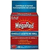 Megared - Schiff omega 3 aceite de krill 500 mg 20 cáps.