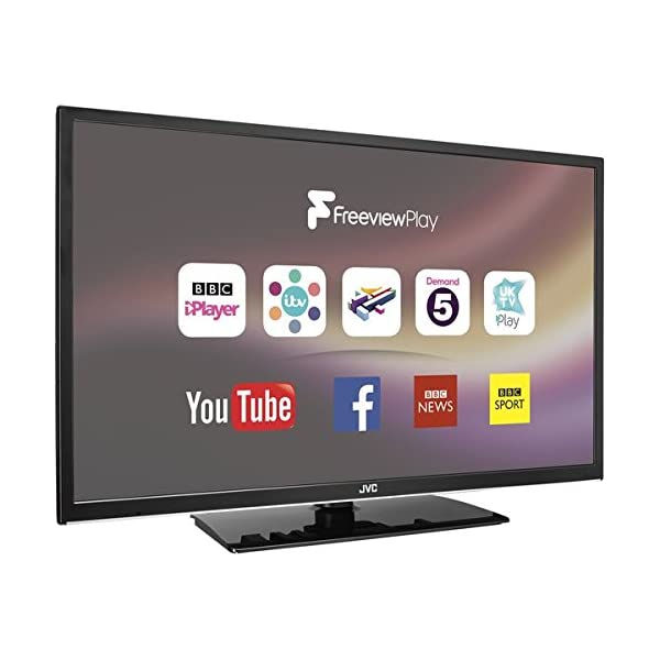JVC LT-32C670 32″ Smart LED TV- HD Ready, Catch up Tv, Freeview, Netflix, USB 412nrRutBUL