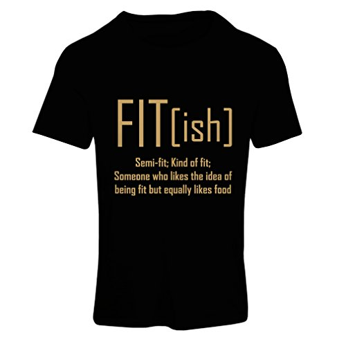 lepni.me T Shirts for Women Fit - Ish Definition. Exercise - Workout - Gym, Sarcastic Gift Idea, Funny Weightloss Sayings