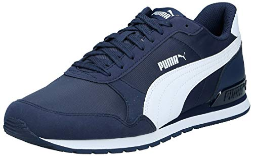 PUMA Unisex-Erwachsene St Runner V2 Nl Sneaker, Blau (Peacoat-Puma White), 43 EU(9 UK)