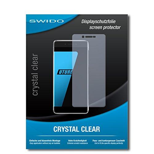 SWIDO Schutzfolie für Ulefone Future [2 Stück] Kristall-Klar, Hoher Härtegrad, Schutz vor Öl, Staub & Kratzer/Glasfolie, Bildschirmschutz, Bildschirmschutzfolie, Panzerglas-Folie