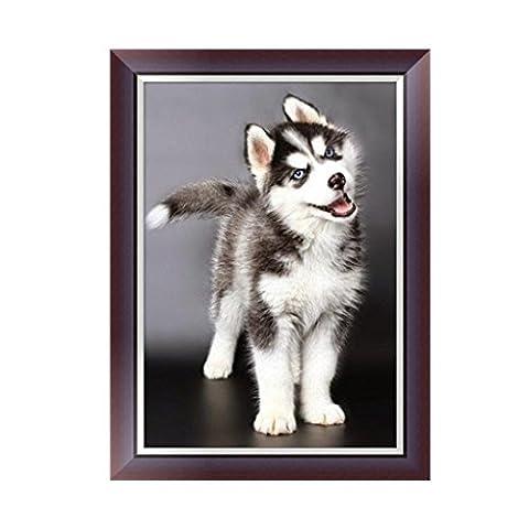 hndhui Basteln 5D Diamant Stickerei Hund Malerei Kreuz Craft Punkt Startseite Wanddekoration