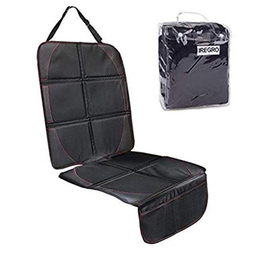 YUHT Sitzauflage Universal rutschfest Autositzbezüge für Kindersitz, Baby, Haustiere jeden Autositz geeignet - zuverlässiger Schutz vor Schmutz und Feuchtigkeit - Autositzbezüge, Black