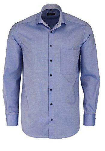 Eterna Comfort Fit Hemd extra kurzer Arm hellblau AL 59 Größe 43 (Kurzer Comfort Fit)