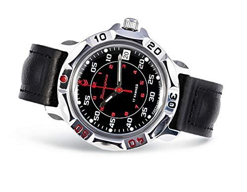 Vostok / Wostok Komandirskie 2414 811172 Russisches Militär Mechanische Uhr