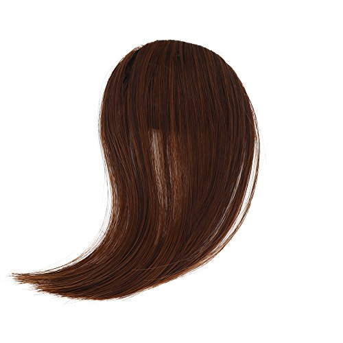 Makefortune 2019 Damen Perücke,Frauen Perücken Beauty Pretty Girls Clip On Clip In Front Hair Bang Fringe Hair Extension Piece Thin Frauen Make up Farbe knallt Mädchen Pflegesets