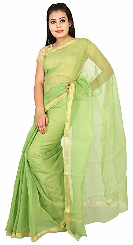 KOTA DORIA COTTON 1 INCH ZARI PLAIN SAREE
