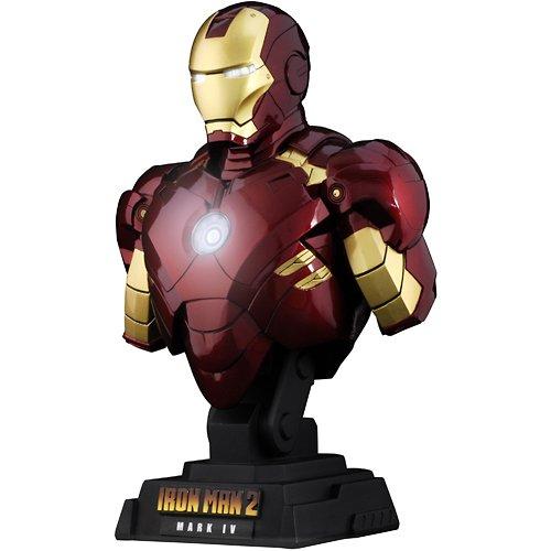 """[Hot Toys Busto: """"Iron Man 2"""" 1/4 Escala Busto Iron Man Marcos 4 (Jap?n importaci?n / El paquete y el manual est?n escritos en japon?s)"""