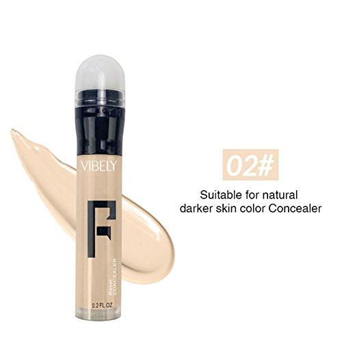 Allbesta Concealer Stift Makeup Primer Naturelle Moisturizer Long Lasting Kontur Highlighter Creme Bronzer Base (Concealer Creme Stift)