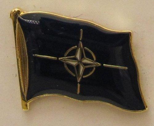 NATO Pin Anstecker Flagge Fahne Flaggenpin Badge Button Flaggen Clip Anstecknadel -